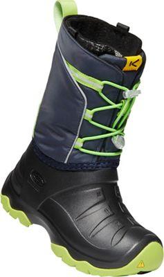 Keen Youth Lumi Waterproof Boot - Blue Nights / Greenery