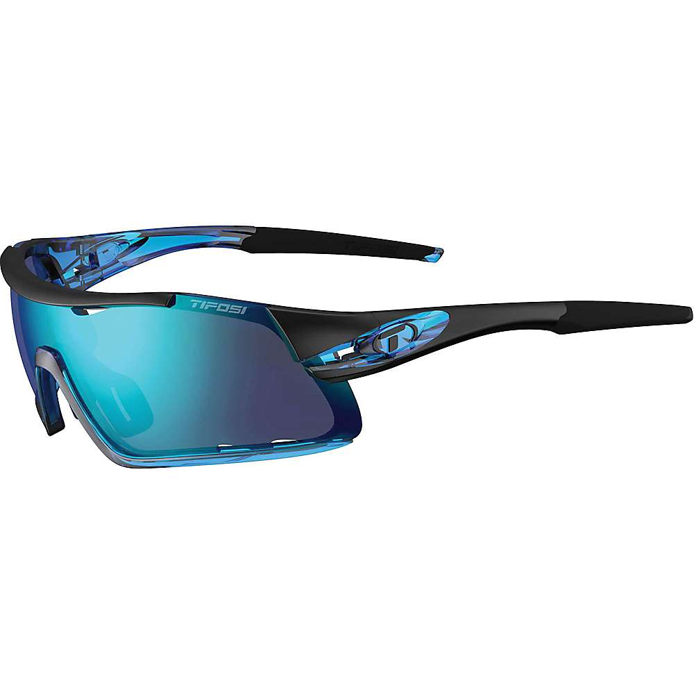 Tifosi Davos Interchangable Sunglasses - One Size - Crystal Blue