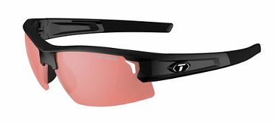 Tifosi Synapse Interchangable Polarized Sunglasses - One Size - Gloss Black
