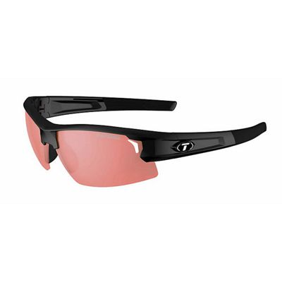 Tifosi Synapse Interchangable Sunglasses - One Size - Gloss Black