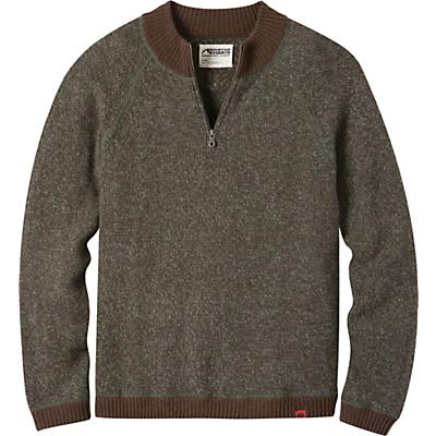 Mountain Khakis Crafted Quarter Zip Sweater - Coffee - Men