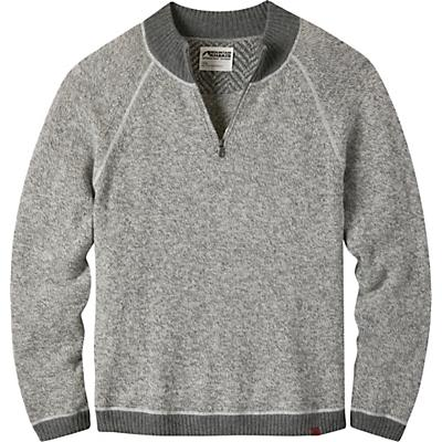 Mountain Khakis Crafted Quarter Zip Sweater - Lunar - Men