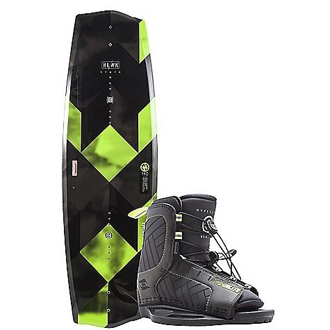 Hyperlite State 2.0 135cm Wakeboard with Remix Boots Package