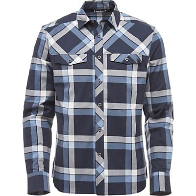 Black Diamond LS Technician Shirt - Captain / Blue Steel Plaid - Men