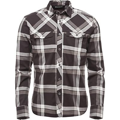 Black Diamond LS Technician Shirt - Smoke / Ash Plaid - Men