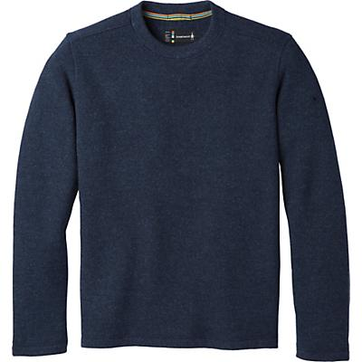 Smartwool Hudson Trail Fleece Crew Sweater - Navy - Men