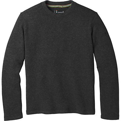 Smartwool Hudson Trail Fleece Crew Sweater - Dark Charcoal - Men