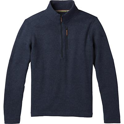 Smartwool Hudson Trail Fleece Half Zip Sweater - Navy - Men