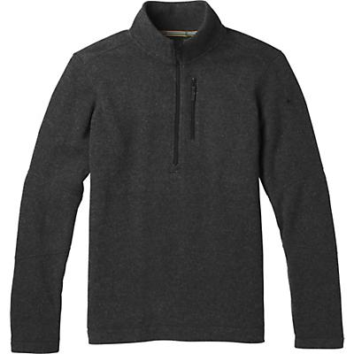 Smartwool Hudson Trail Fleece Half Zip Sweater - Dark Charcoal - Men