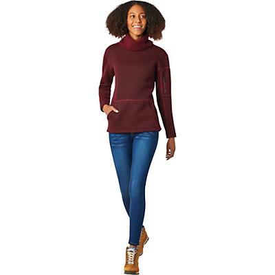 Smartwool Hudson Trail Pullover Fleece Sweater - Ruby - Women