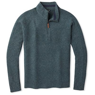 Smartwool Ripple Ridge Half Zip Sweater - Deep Navy / Pine Gray Marl - Men