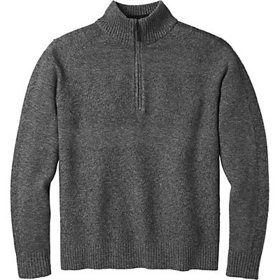 Smartwool Ripple Ridge Half Zip Sweater - Light Gray Heather / Charcoal Heather - Men