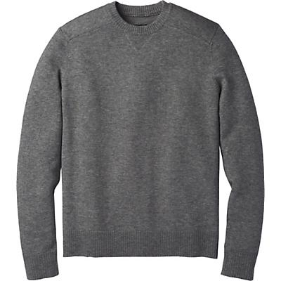 Smartwool Sparwood Crew Sweater - Medium Gray Donegal - Men