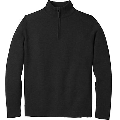 Smartwool Sparwood Half Zip Sweater - Charcoal Heather - Men