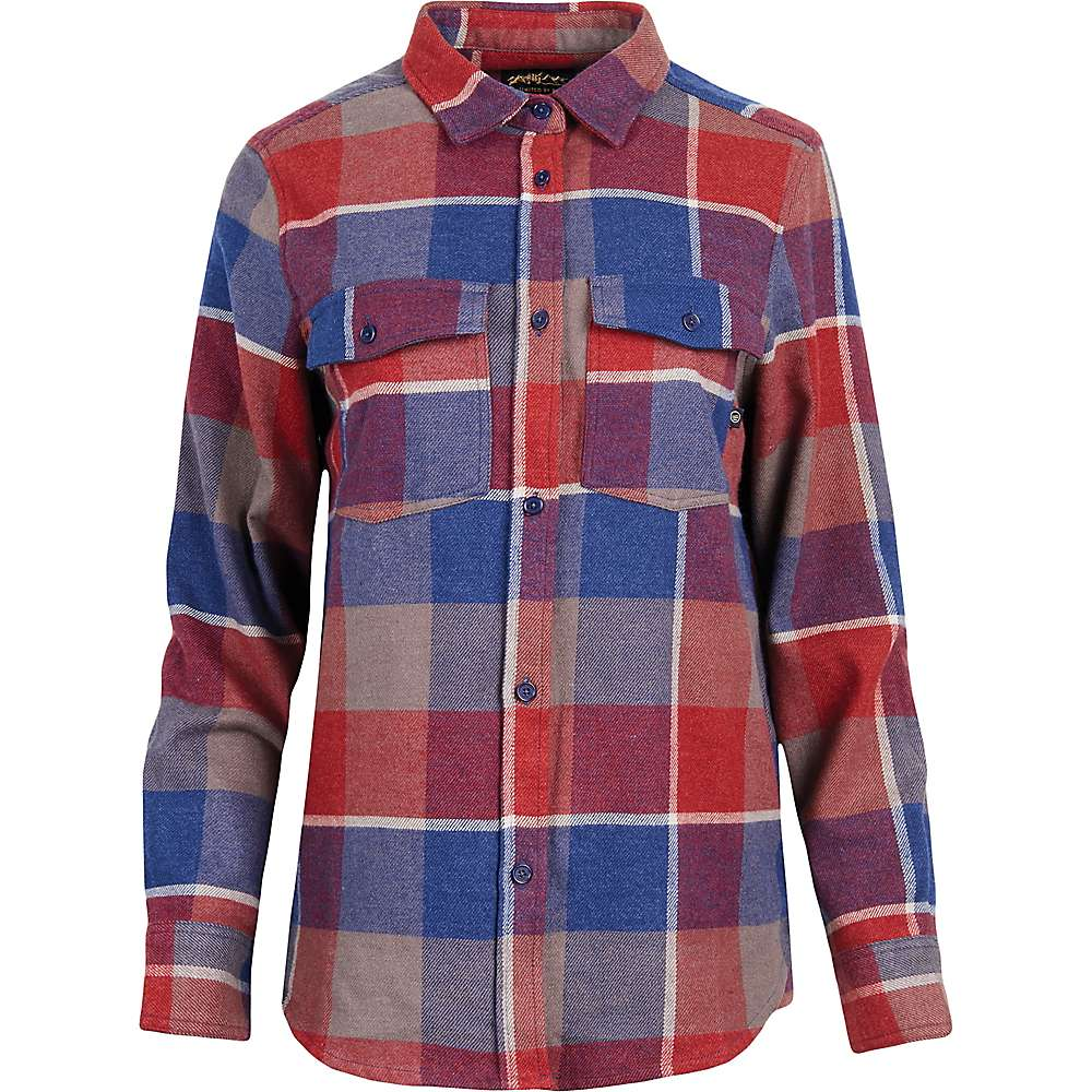 614b2c399249a United By Blue Women's Fremount Flannel Button Down Shirt - Large - Red