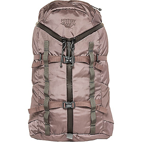 Mystery Ranch Women's Cairn Backpack Peppercorn Mystery Ranch Women's Cairn Backpack - Peppercorn - in stock now. FEATURES of the Mystery Ranch Women's Cairn Backpack 420D Robic nylon fabric and YKK? zippers 3-ZIP design for quick, easy access Zippered lid pocket to organize essentials Water bottle pockets keep hydration handy Two rows of daisy chain Hydration reservoir compatible Double-layered bottom for long-haul durability Women?s-specific adjustable yoke