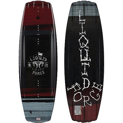 Liquid Force Classic 134cm Wakeboard with Transit Package