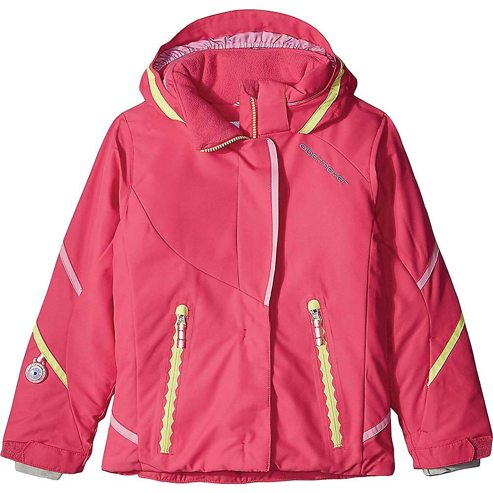 Obermeyer Kids' Brier Jacket - 3 - Wild Pink
