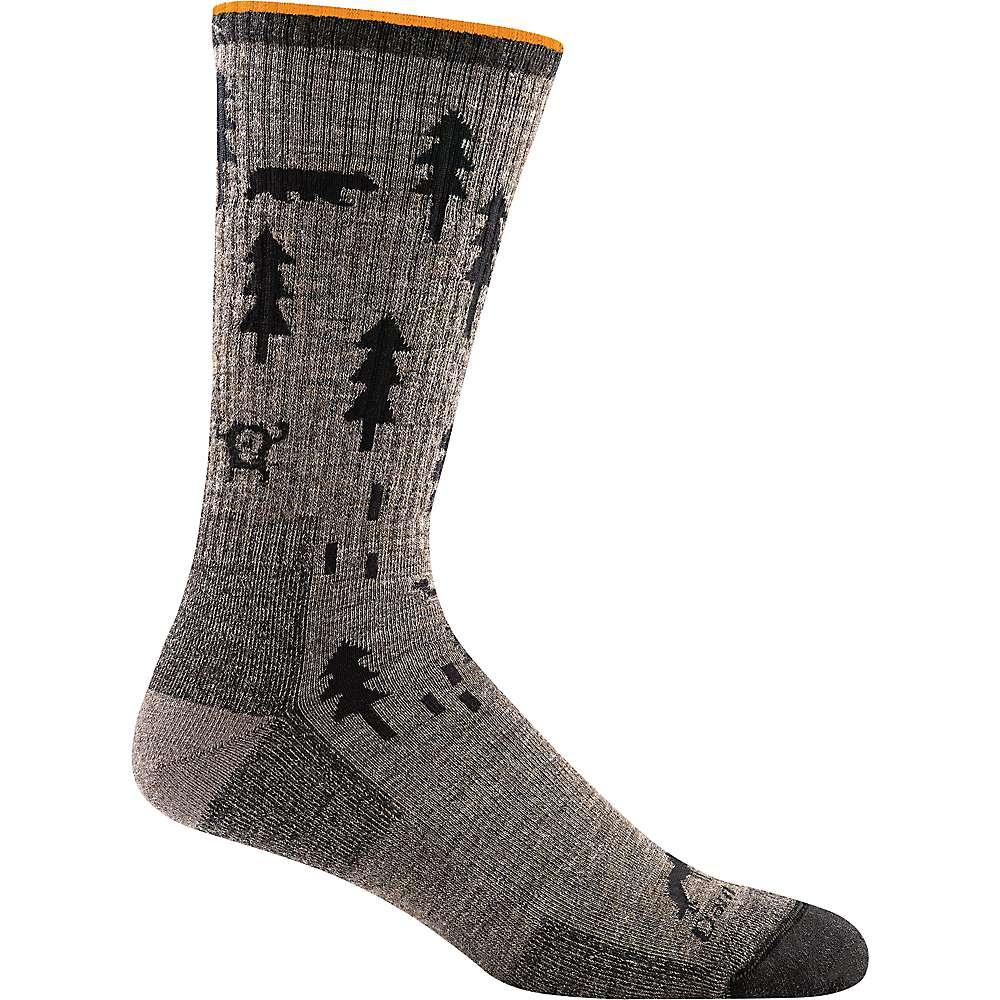 Darn Tough Men's ABC Boot Cushion Sock - XL - Taupe