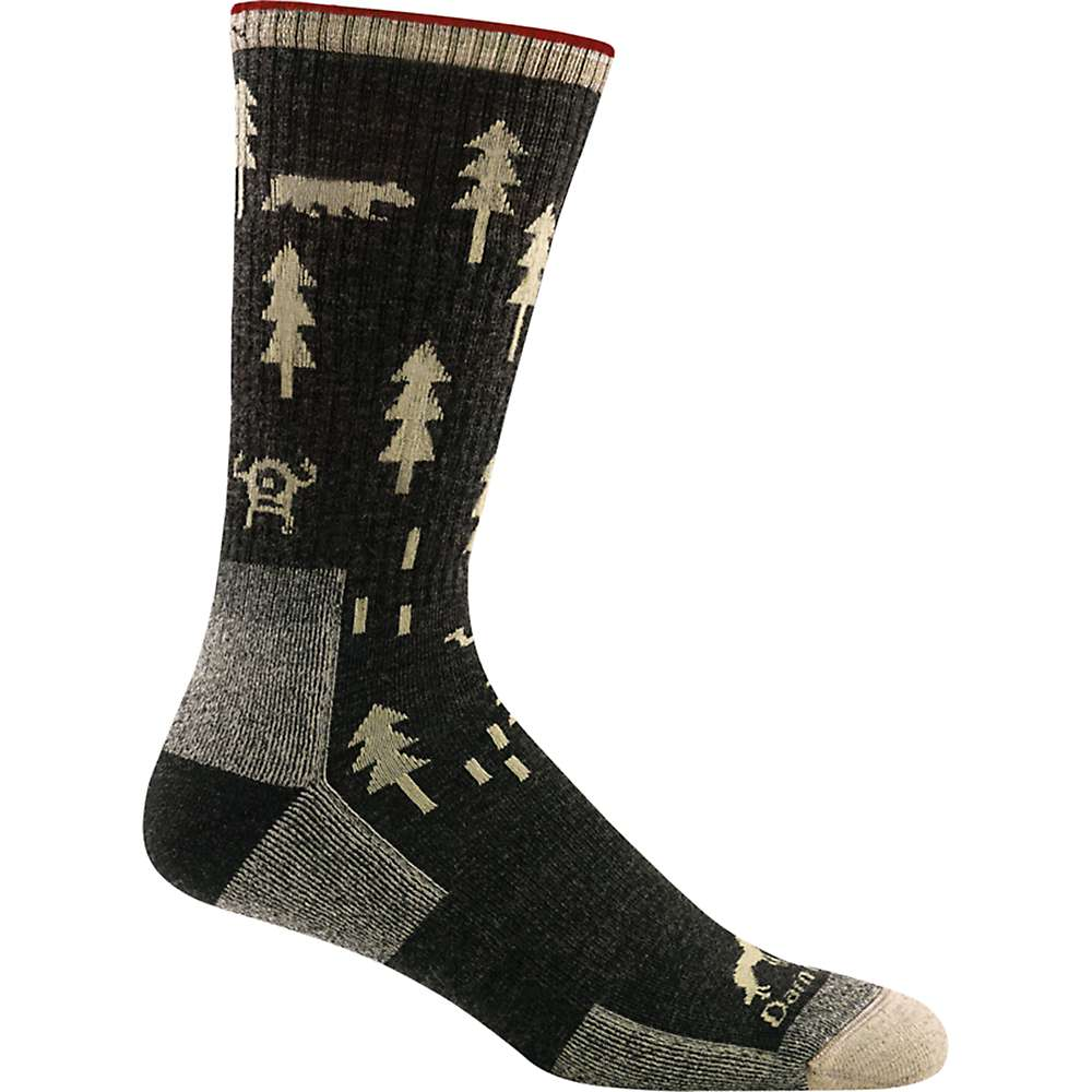 Darn Tough Men's ABC Boot Cushion Sock - Medium - Black