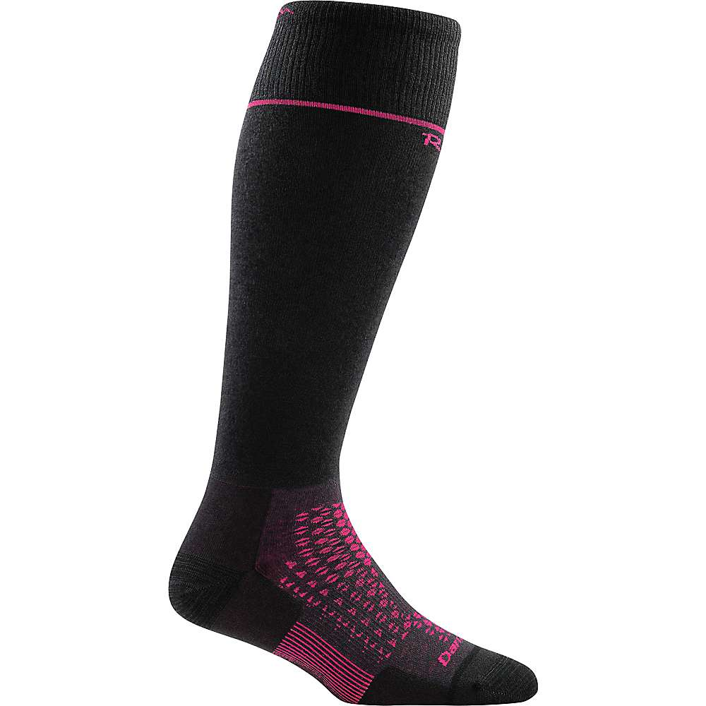 Darn Tough Women's RFL Thermolite Over The Calf Ultralight Sock - Large - Black