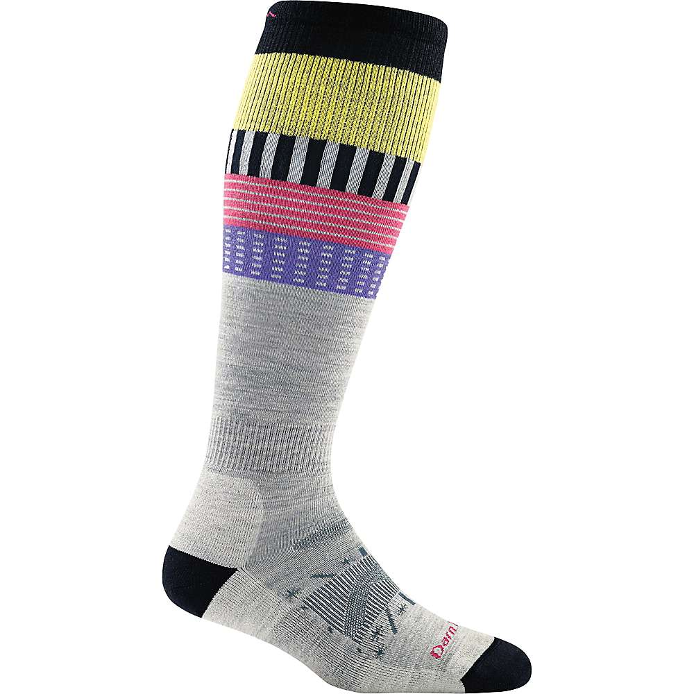 Darn Tough Women's STP Over The Calf Cushion Sock - Small - Grey