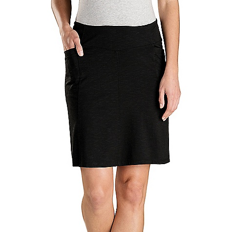 Toad & Co Women's Foxon Skirt Black Toad & Co Women's Foxon Skirt - Black - in stock now. FEATURES of the Toad & Co Women's Foxon Skirt Stretch movement Moisture-wicking Wash-and-wear easy care OEKO-TEX 100 certified fabric Elastic self-waistband Side hand pockets A-line silhouette
