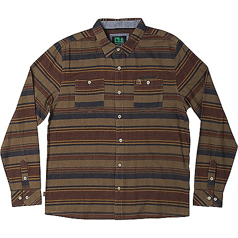 HippyTree Men's Ashbury Flannel Tan HippyTree Men's Ashbury Flannel - Tan - in stock now. FEATURES of the Hippy Tree Men's Ashbury Flannel Yarn dyed striped flannel shirt Dual chest pockets with stash pocket Engraved natural coconut buttons Debossed leather labels on chest pocket and side seam Chambray interior collar stand and wrist cuffs Nomad division interior woven label