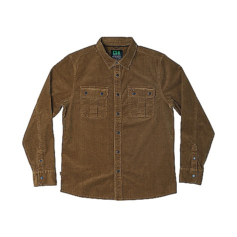 HippyTree Men's Odessa Woven Shirt Tan HippyTree Men's Odessa Woven Shirt - Tan - in stock now. FEATURES of the Hippy Tree Men's Odessa Woven Shirt Stretch corduroy woven shirt with enzyme wash Matching chest pockets with flap closures Engraved snap buttons Debossed leather labels on chest pocket and side seam Nomad division interior woven label
