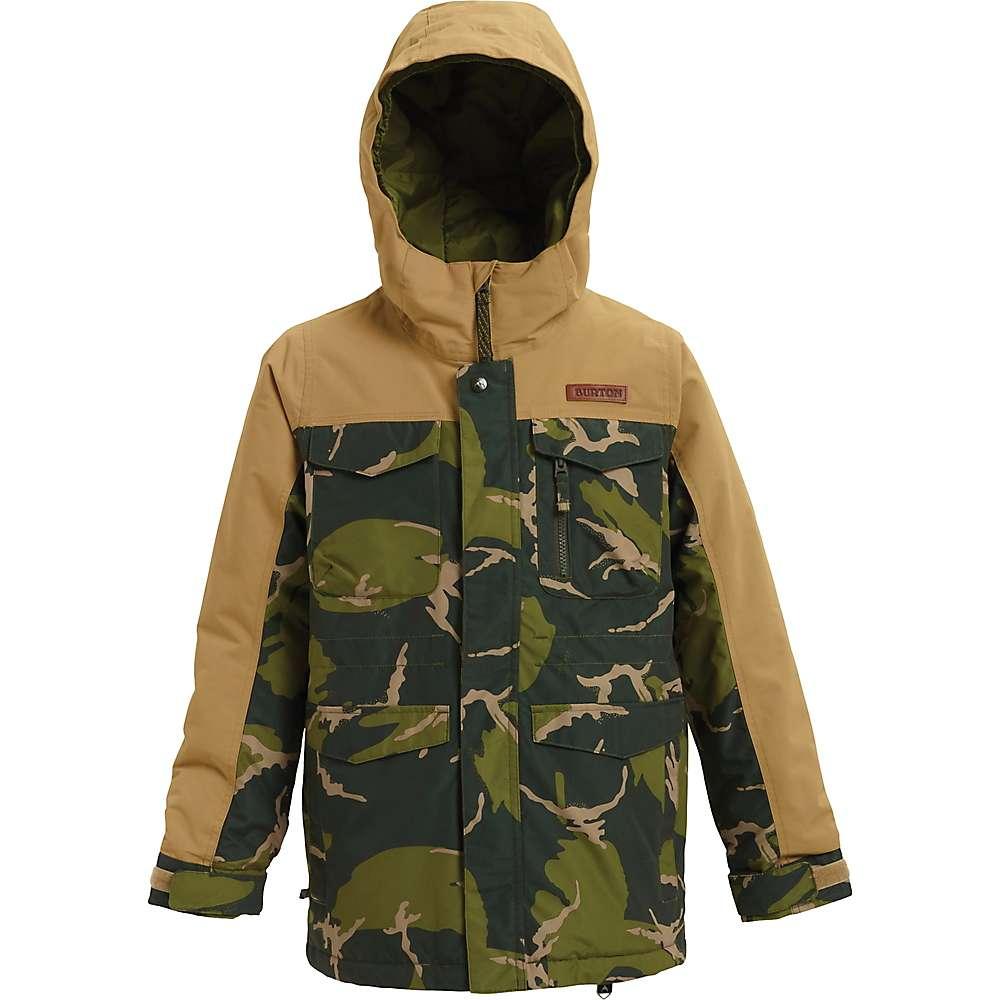 Burton Boys' Covert Jacket – Large – Mountain Camo / Kelp