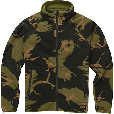 Burton Youth Spark Full-Zip Fleece Collar Jacket - Mountain Camo