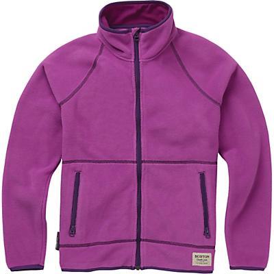 Burton Youth Spark Full-Zip Fleece Collar Jacket - Grapeseed