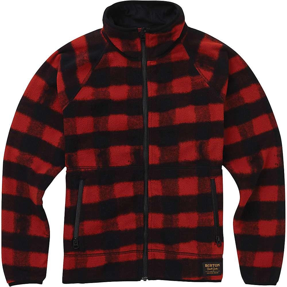 Burton Youth Spark Full-Zip Fleece Collar Jacket - Spray Buffalo