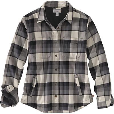 Carhartt Rugged Flex Hamilton Fleece-Lined Shirt - Shadow - Women