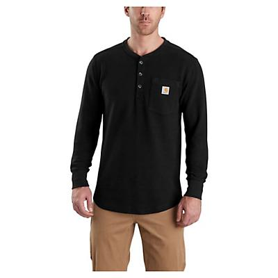 Carhartt Tilden LS Henley - Black - Men