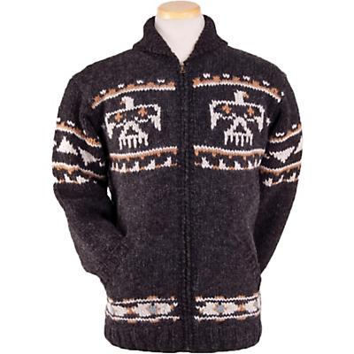 Laundromat Eagle Sweater - Black Natural - Men