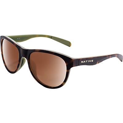 Native Acadia Polarized Sunglasses - Matte Dark Tort / Brown