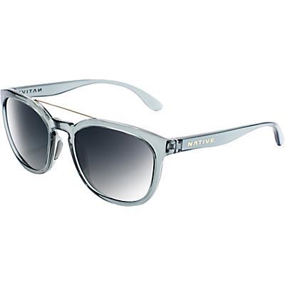 Native Sixty Six Polarized Sunglasses - Dark Crystal Grey / Grey Polarized