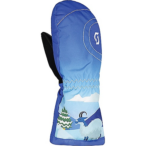 Scott USA Juniors' Tot Ultimate Mitten Blue Scott USA Juniors' Tot Ultimate Mitten - Blue - in stock now. FEATURES of the Scott USA Juniors' Tot Ultimate Mitten Extra-long gauntlet Fabric Details Main: 53% Polyamide, 24% Polyester, 23% Polyurethane Lining: 100% Polyester