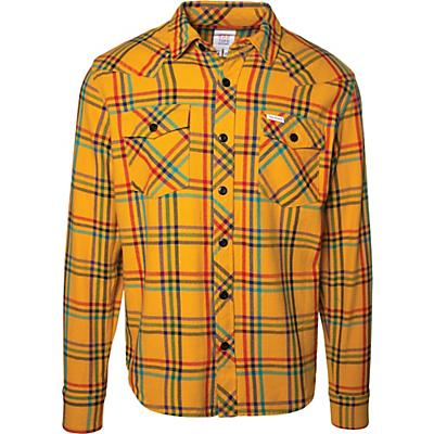 Topo Designs Plaid Mountain LS Shirt - Mustard