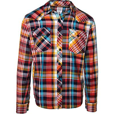 Topo Designs Plaid Mountain LS Shirt - Multi