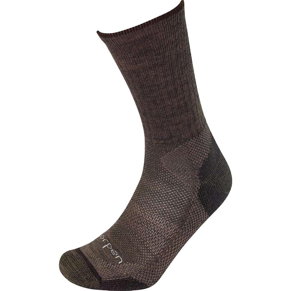 Lorpen T2 Merino Midweight Hiker Sock - 2 Pack - Medium - Earth