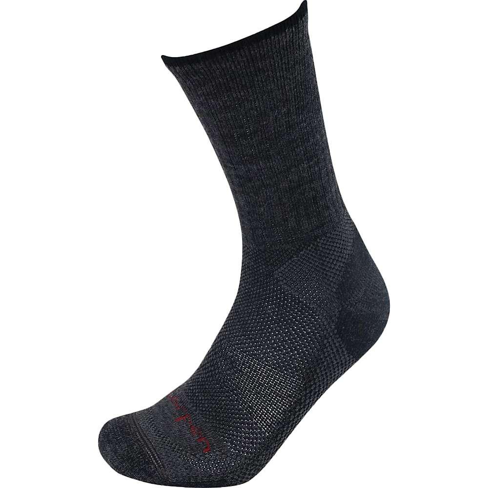 Lorpen T2 Merino Midweight Hiker Sock - 2 Pack - Medium - Charcoal