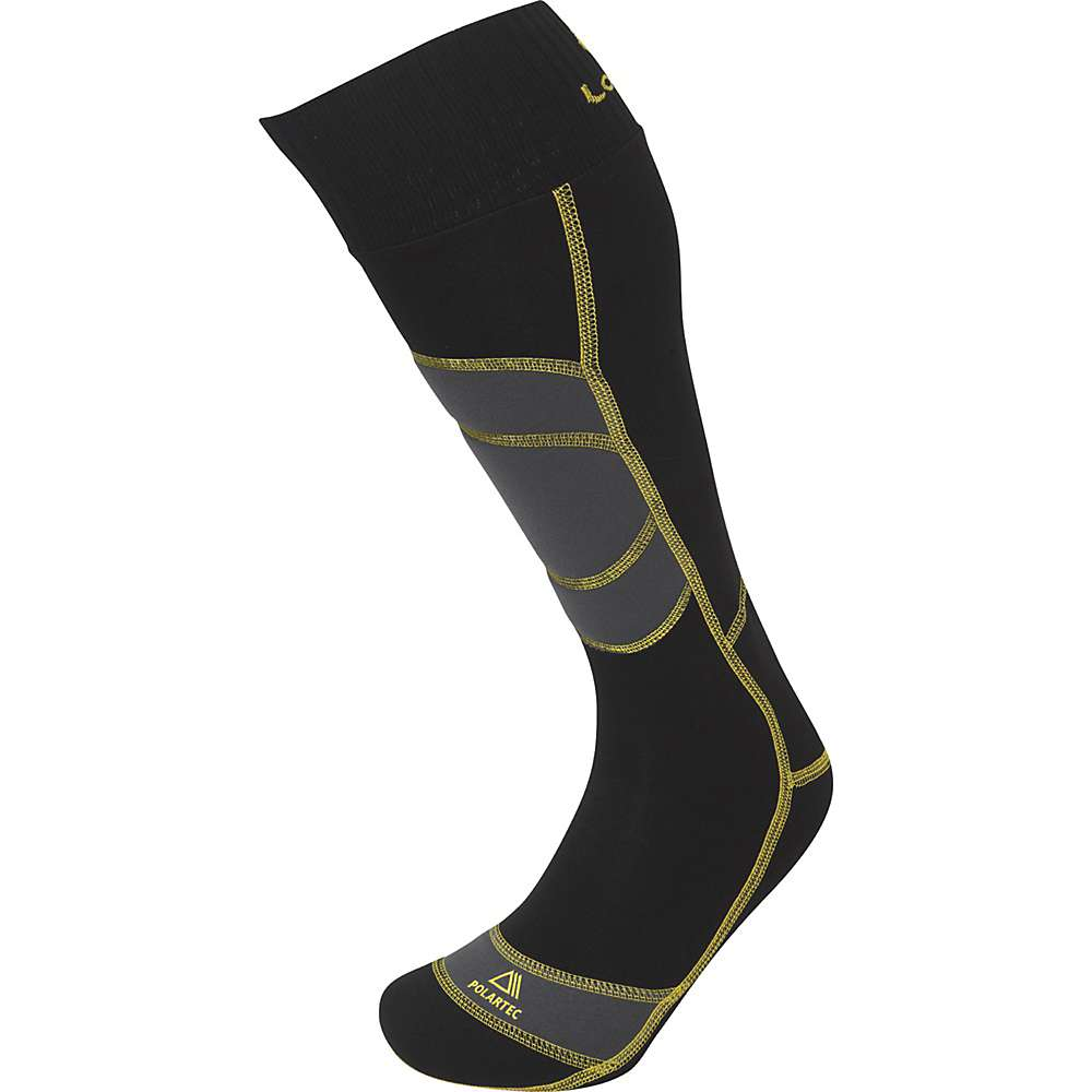 Lorpen T3+ Ski Polartec Warm Active Sock - Medium - Black
