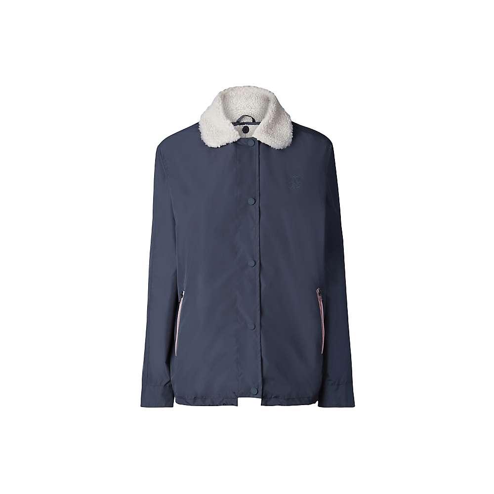 Hunter Women's Original Shell Jacket with Fleece Liner – Large – Navy