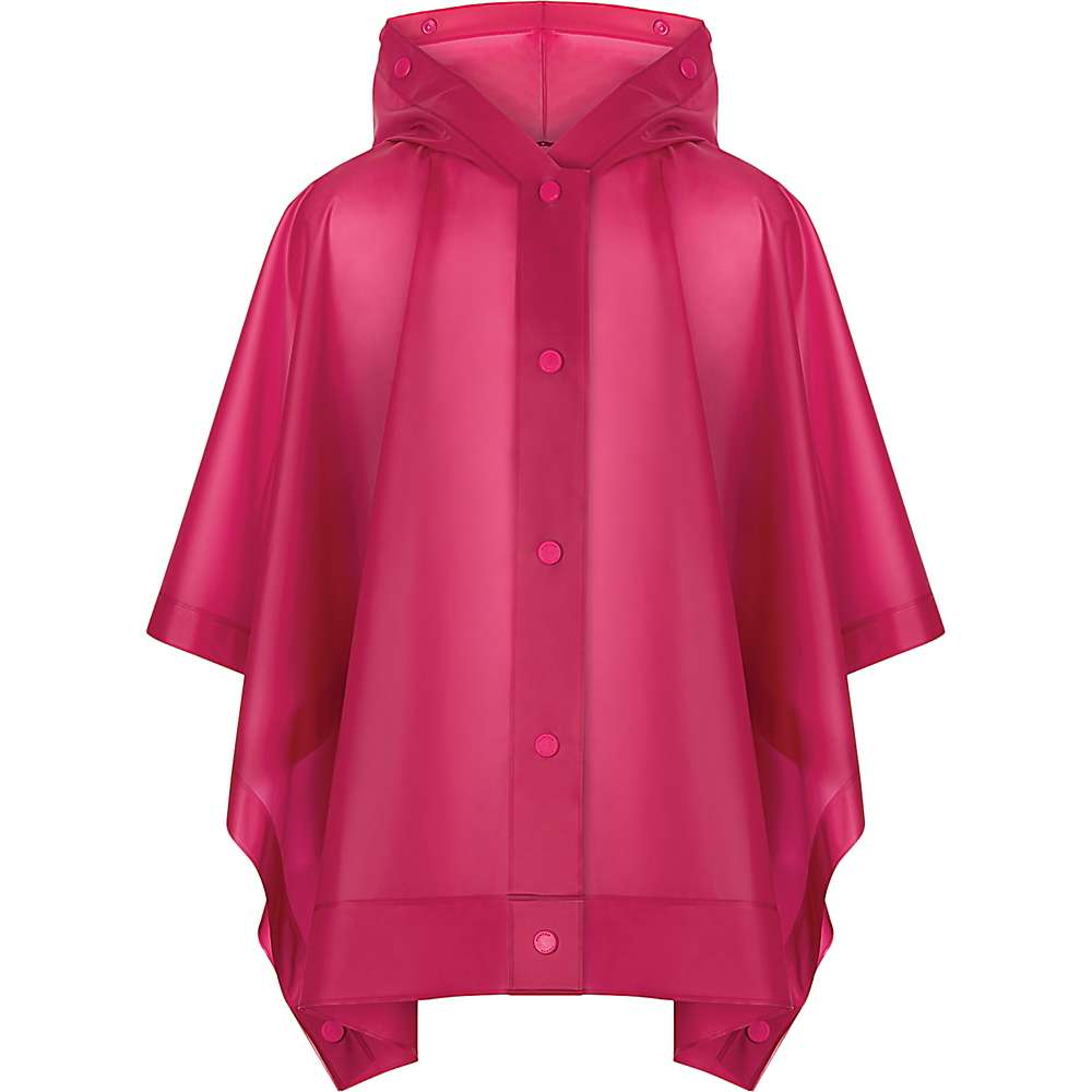 Hunter Kids' Original Vinyl Poncho - Small / 3-5 - Bright Pink