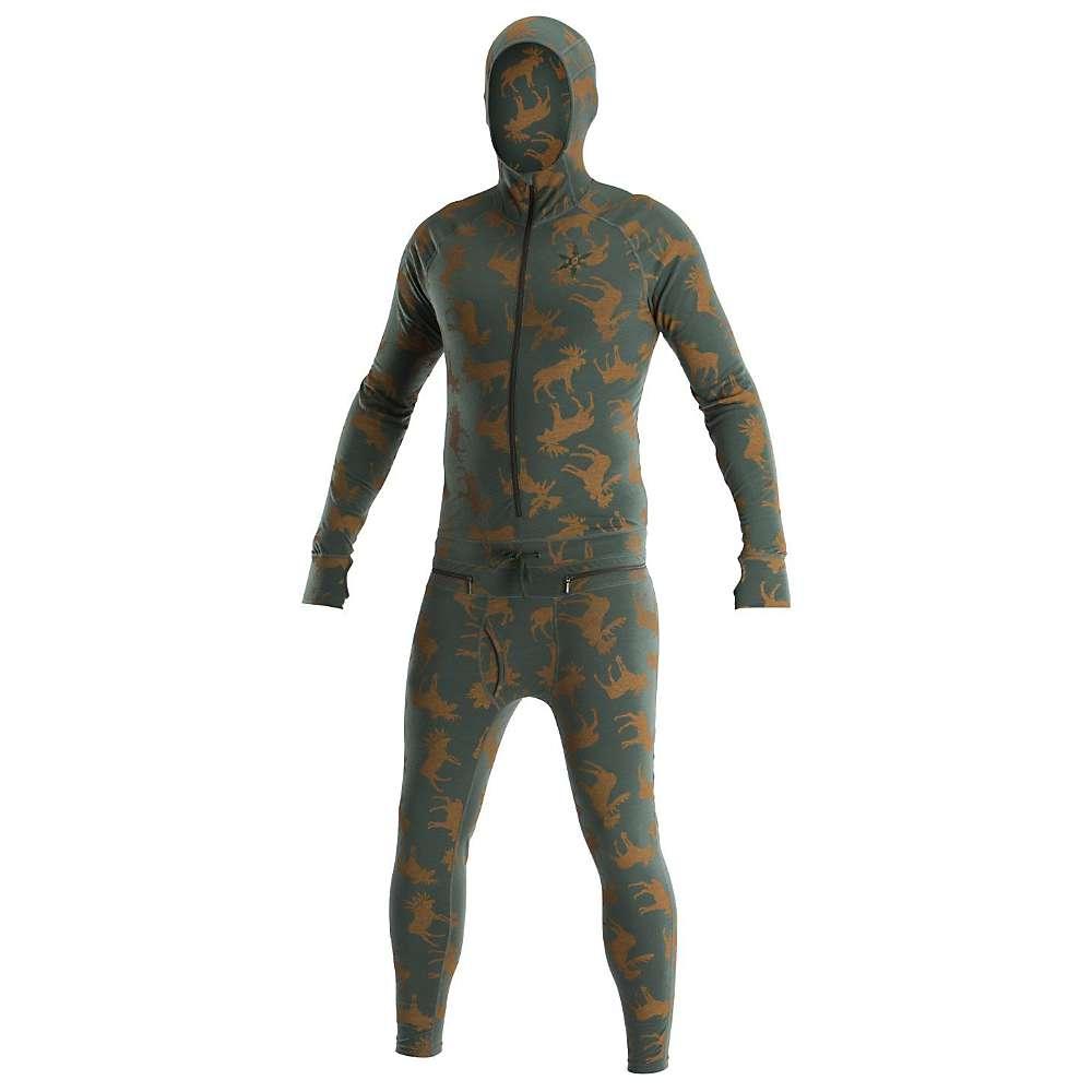 Image of Airblaster Men's Classic Ninja Suit - Small - Olive Moose