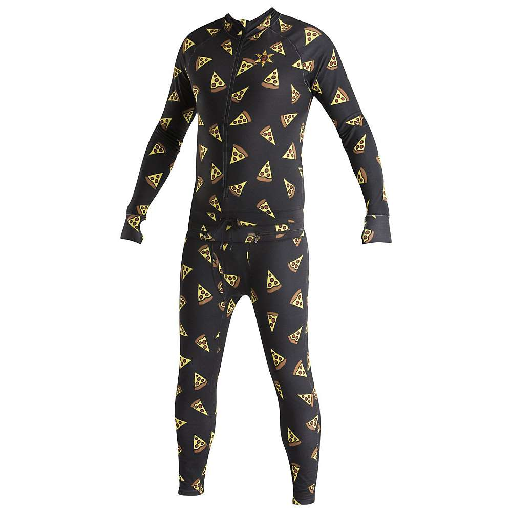 Image of Airblaster Men's Hoodless Ninja Suit - Large - Pizza