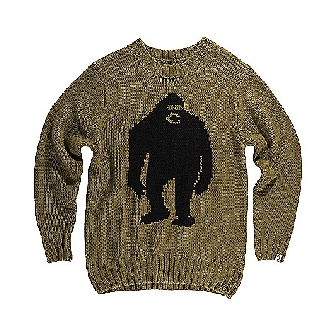 Image of Airblaster Men's OG Sassy Sweater Grizzly Black