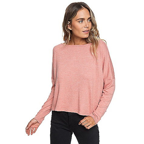 Roxy Women's Your Time Women LS Top Desert Sand Heather Roxy Women's Your Time Women LS Top - Desert Sand Heather - in stock now. FEATURES of the Roxy Women's Your Time Women LS Top Long sleeves top 75% Viscose, 21% Polyester, 4% Elastane 215.00 g/m2 Boxy relaxed fit Crew neckline